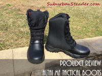 ALTAI MF Tactical Boots Product Review