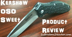 Kershaw OSO Sweet Knife (Product Review)