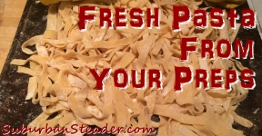 Fresh Pasta From Your Preps