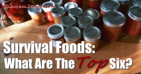 Survival Foods: What Are The Top Six?